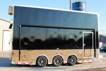 22' Custom Aluminum Stacker Trailer