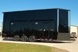 30' Aluminum Stacker Trailer for Sale