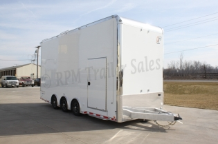 24' Aluminum Stacker Race Car Trailer